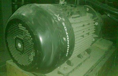 Трехфазный асинхронный электродвигатель