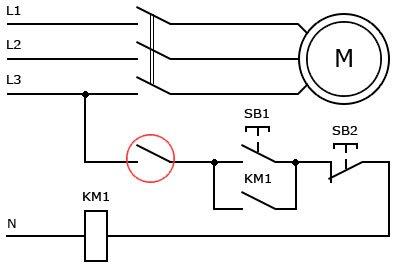 Схема подключения концевого выключателя