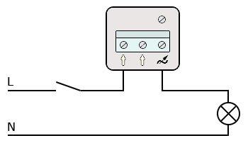 Диммер + выключатель