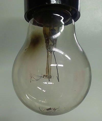 Сгоревшая лампочка