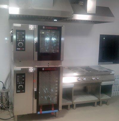Мощное кухонное электрооборудование